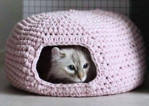 cat house crochet pattern