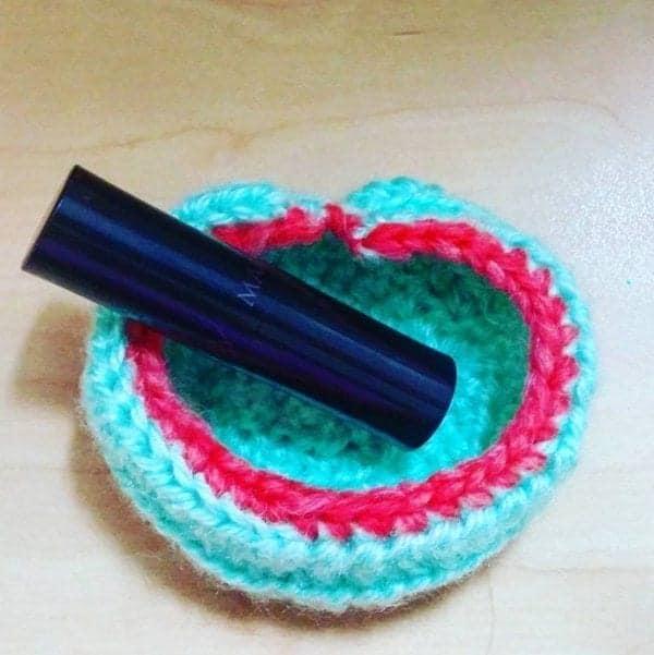 crochet pattern free heart shaped bowl