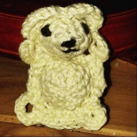 Crochet bear pattern bear crochet pattern