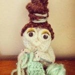 old knitting lady crochet pattern free