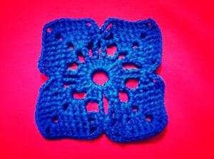How to crochet square