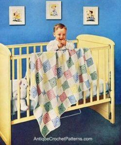 Afghan crochet pattern baby blanket