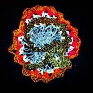 Crochet Coral free crochet hairpin crochet pattern