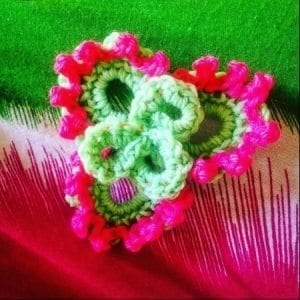 How to crochet flower