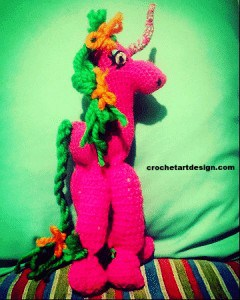 Crochet Unicorn amigurumi pattern unicorn amigurumi crochet pattern