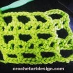 bar and lattice crochet stitch crochet bar and lattice stitch