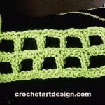 firm mesh crochet stitch crochet firm mesh stitch
