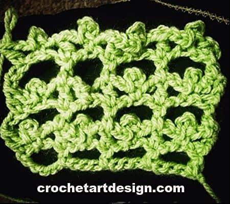 picot lattice crochet stitch crochet picot lattice stitch