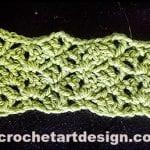 lozenge crochet stitch crochet lozenge stitch