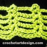 ladder crochet stitch crochet stitch ladder stitch