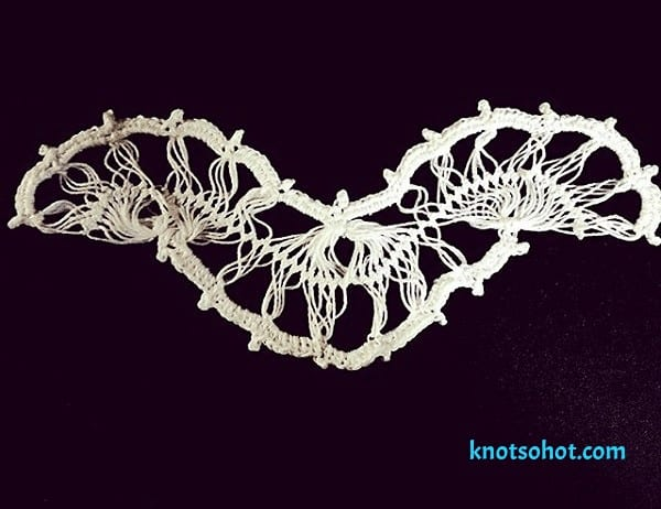 crochet hairpin choker pattern hairpin crochet choker pattern