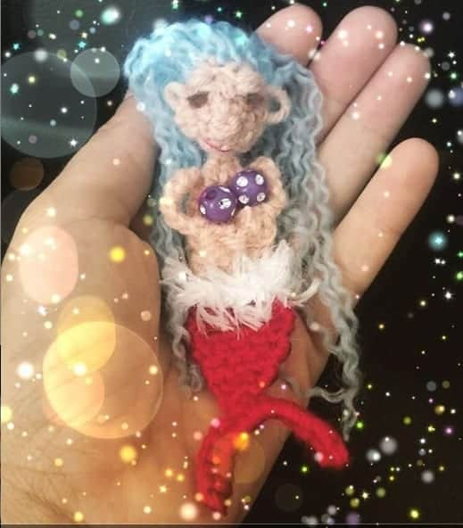 crochet mermaid doll amigurumi pattern mermaid crochet doll pattern