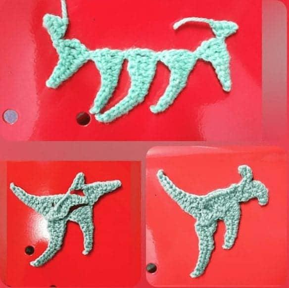 Crochet kangaroo pattern kangaroo crochet pattern