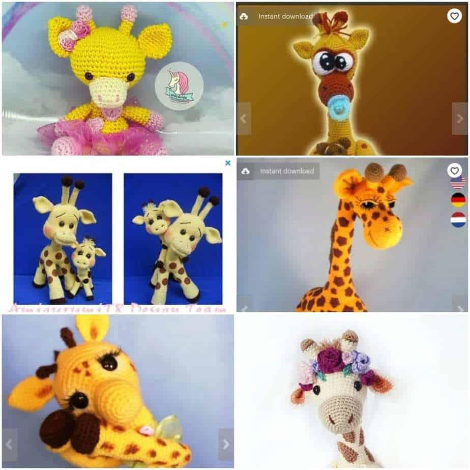 Ginnie the Giraffe Free Amigurumi Pattern | Jess Huff | 924x924