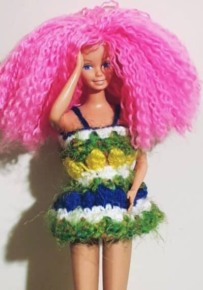 crochet barbie doll pattern